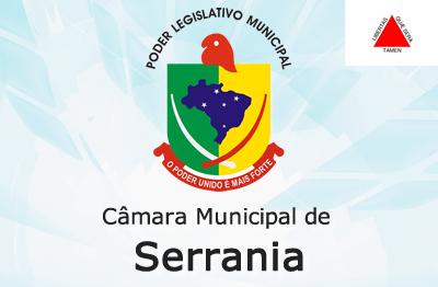 Site da Câmara de Serrania